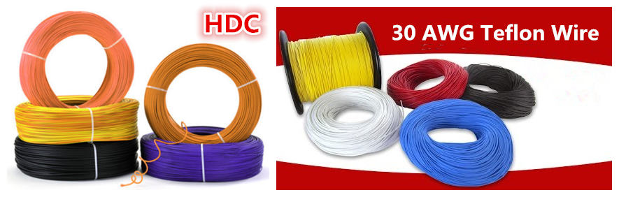 30 awg teflon wire manufacturers
