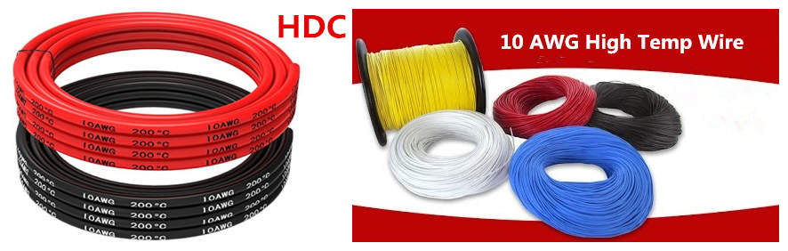 Huadong 10 gauge high temp wire manufacturer