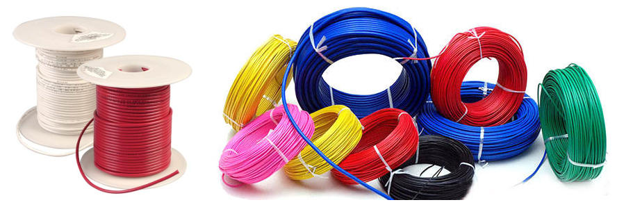 Huadong PFA cable high temp wire packing