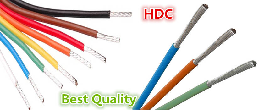 Huadong silver hook up wire factory price