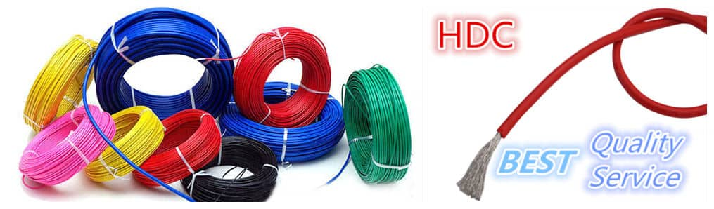 Huadong teflon wire 20 AWG manufacturer