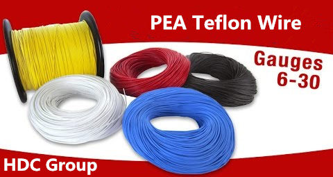 PFA insulated cable free samples